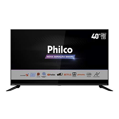 """Smart TV D LED 40"""" PHILCO PTV40G60SNBL - Wi-Fi 3 HDMI 2 USB"""