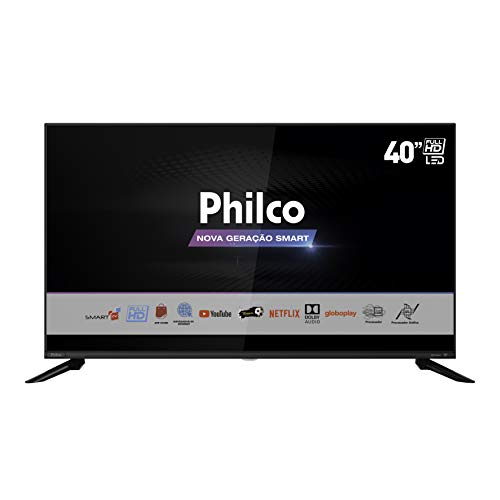 "Smart TV DLED 40"" Philco PTV40G60SNBL - Wi-Fi 3 HDMI 2 USB"