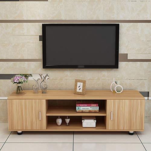 WWLONG Mueble TV TV Mesa TV Sala Estar TV Mueble TV, Comedor Dormitorio Dormitorio TV Auxiliar TV Unidad Aparador,Estilo Modren Soporte De Televisión Reciclado,120x32x58cm M