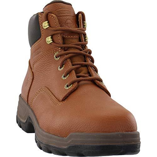 Wolverine Men's Stratus 6' Steel Toe Waterproof Boot Construction, Brown, 9