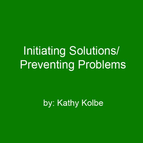 Initiating Solutions/Preventing Problems audiobook cover art
