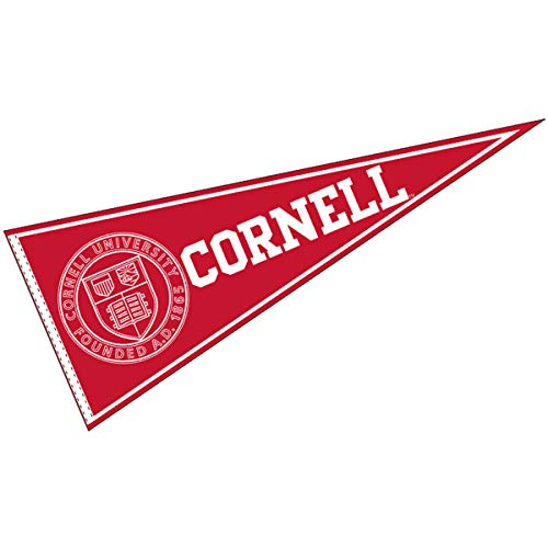 College Flags & Banners Co. Cornell Big Red Pennant Full Size Felt