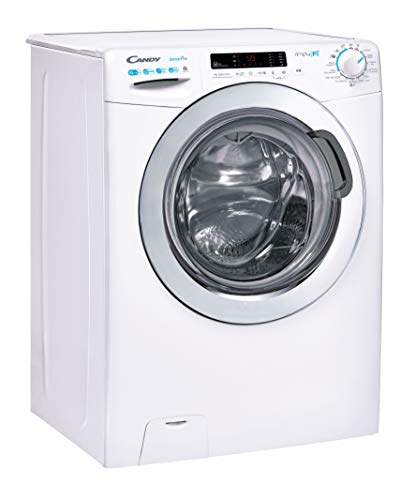 Candy Smart Pro CSOW41063DWCE Free Standing Washer Dryer, WiFi Connected, 10 kg/6 kg Load, 1400 rpm, White