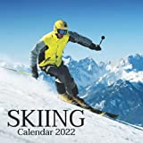 Skiing Calendar 2022: Monthly Square Calendar 2022-2023, 16 Month Calendar, Home And Office Calendar For Women And Men