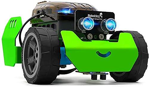 Robobloq STEM Metal Q-Scout Robot...