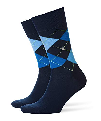 Burlington Herren King M SO Socken, Blickdicht, Blau (Marine 6121), 40-46
