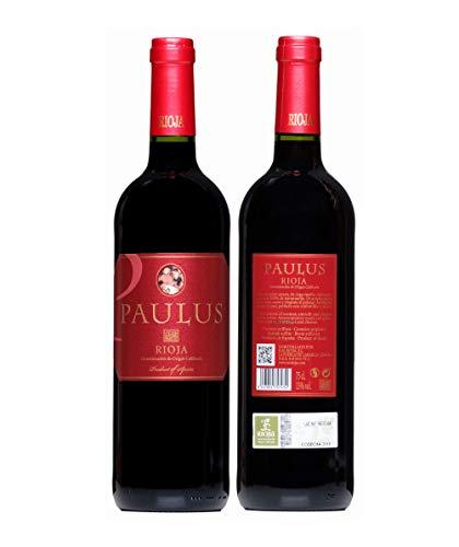 Paulus Vino Tinto Joven - D.O.Ca Rioja 1 Botellas 750 ml