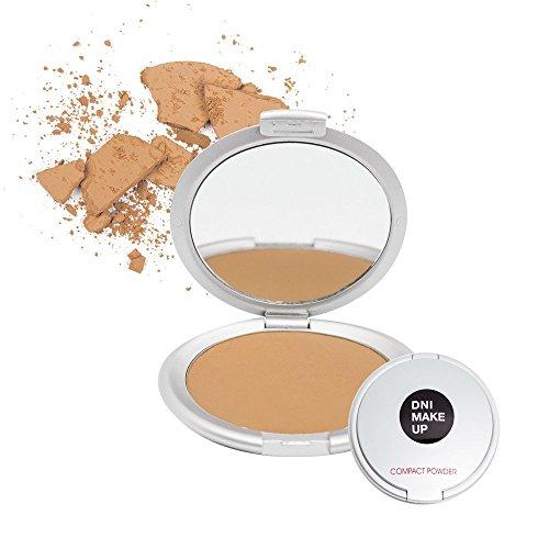Polvos compactos textura terciopelo, Compact powder, 10gr · nº 3, color Camel, DNI MAKE UP