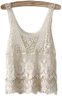 75e88d5a4 Amazon.es: Chalecos En Crochet: Ropa