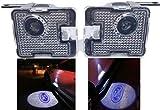 Sunshine Fly 2 pezzi LED laterali sotto Specchio Luce del Proiettore fantasma Logo luce di benvenuto auto ricambio fanale posteriore accessori