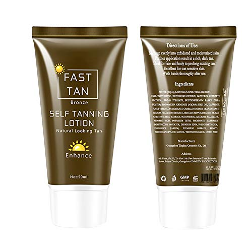 ROPALIA Body Bronzer Sunscreen Self-tanning Enhancement Lotion Tanning Cream Tanning Lotion