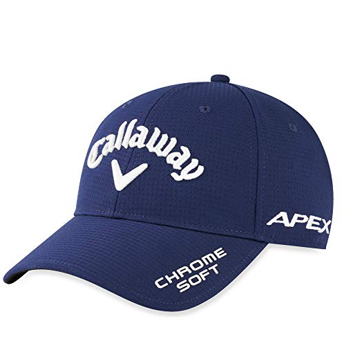 Callaway Golf Tour Authentic Performance Pro Cap 2020 - Gorra para Hombre, Not Applicable, CG HW Tour, Hombre, Color Negro/Blanco, tamaño Talla única