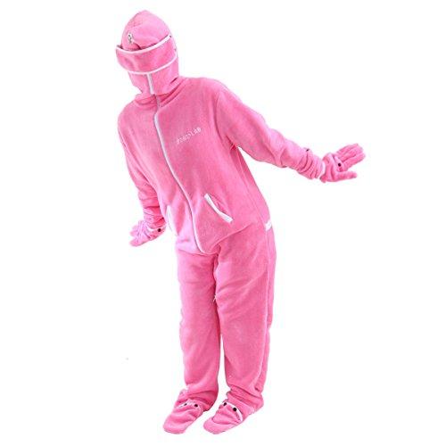 BIBILAB (ビビラボ) 冬のダメ着 人型寝袋 フリース EH-PINK-S ニュータイプ着る毛布 旧モデル