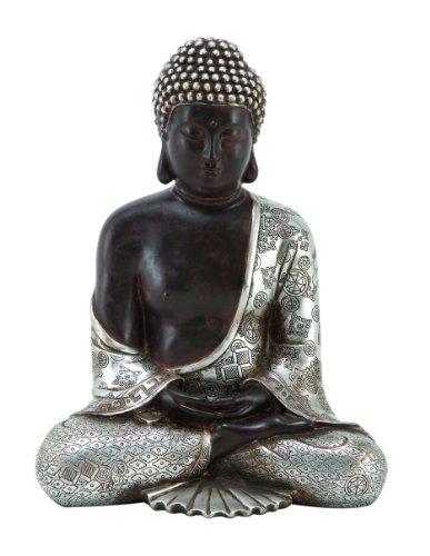Deco 79 Resting Polystone Buddha