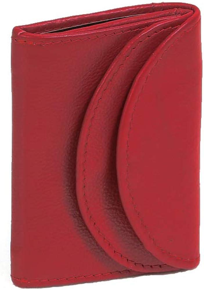 Leas, portafoglio piccolo,  in vera pelle, cherry mini-edition`` LE1435-01-13