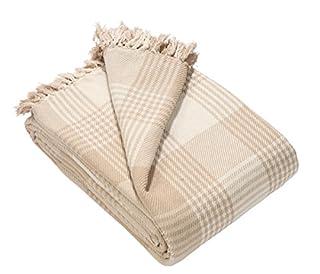 EHC Premium Reversible 100% Cotton Super King Size 250 x 380cm Tartan Throws for Sofa, Bedspread (B0719C21Y5) | Amazon price tracker / tracking, Amazon price history charts, Amazon price watches, Amazon price drop alerts