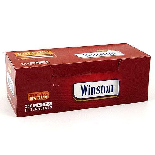 Zigarettenhülsen Winston Extra 1.000 Stück