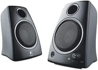 Logitech 扬声器,Z130,5 瓦 RMS,黑色