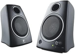 Logitech Speakers, Z130, 5 Watts RMS, Black
