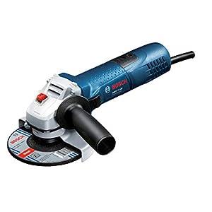 Bosch Professional GWS 1400 Amoladora angular, 1400 W, 11000 rpm, Disco 125 mm, Electrónica constante, Con caja de cartón , Color Azul