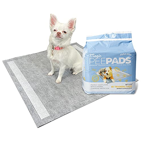 Quick Dry Activated Carbon Puppy Pads