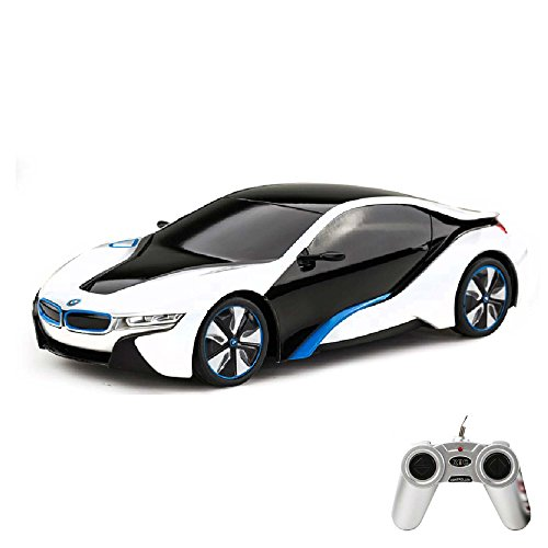 BMW i8 Vision - RC ferngesteuertes Lizenz-Fahrzeug im Original-Design, Modell-Maßstab 1:24, Ready-to-Drive, Auto inkl. Fernsteuerung, Neu
