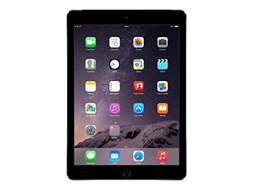 Apple iPad Air 2 (128GB, Wi-Fi + Cellular, Space Gray) (Renewed)