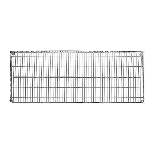 Seville Classics SHE24609 UltraDurable Commercial-Grade Mega Rack NSF Steel Wire Shelf, 60