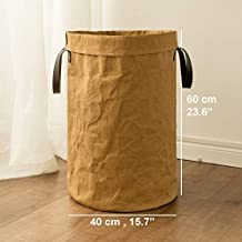 The New Stackable Storage Baskets, Waterproof Creative Large Cotton and Linen Sundries Cute Storage Baskets Children's Toy...