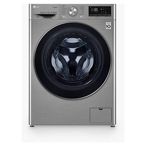 LG F4V709STSE Freestanding Washing Machine 9L 1400RPM Graphite