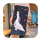 Happy-horse Coque de téléphone pour Huawei Nova 2 i Plus 3 i E 4 E 5 i pro 6 SE 6 5 g-a6 pour Nova...