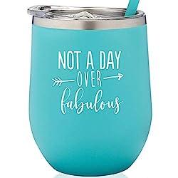 Female Coworker Birthday Gifts 1 Wine Glass
