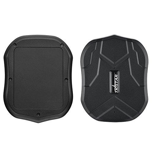 TKSTAR Localizzatore GPS,GPS Tracker Tracciatore di Posizione GPS per Auto/Veicoli/Camion/MotoTramite App Gratuita,Impermeabile GPS Locator con Magnete Potente (TK905B-10000mah)
