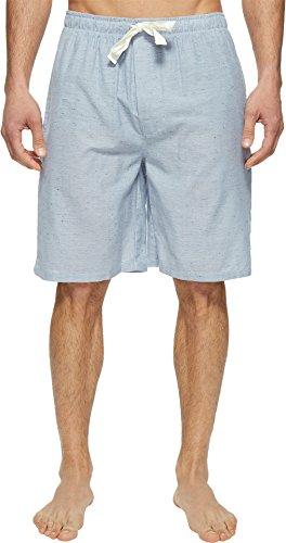 Jockey Herren Sleep Short Pyjamahose, Blau/Weiß, Medium