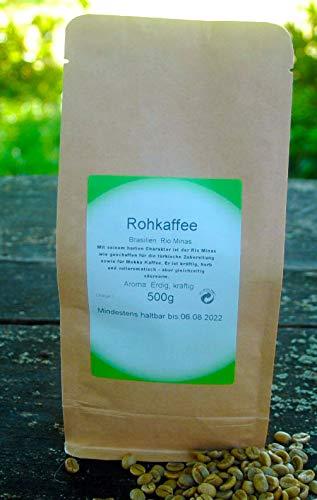 Naturix24 Rohkaffee aus Brasilien Rio Minas 500g