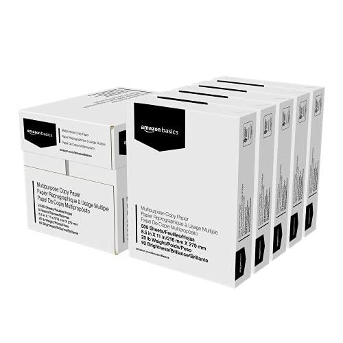 Amazon Basics Multipurpose Copy Printer Paper...