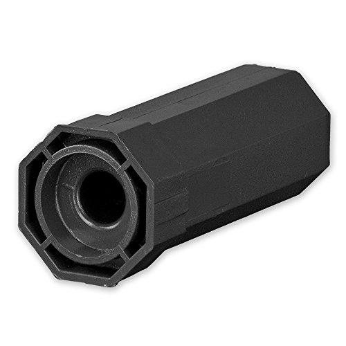 Mini-Walzenkapsel für Achtkant Rolladenwelle SW 40, Aufnahme für Kugellager Ø = 28 mm, von EVEROXX