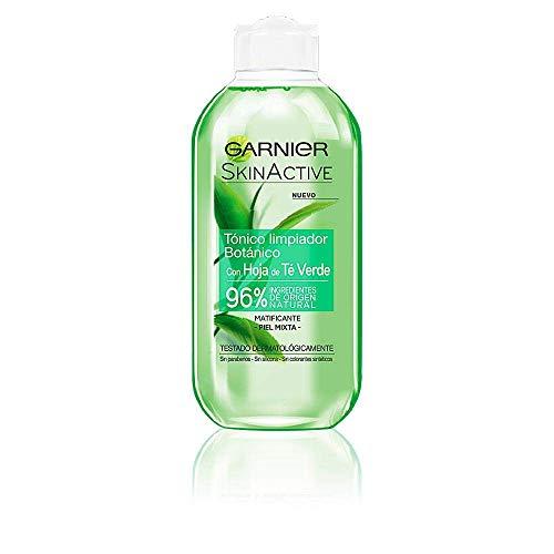 Garnier SkinActive - Detergente Tonico, al Te Verde, 200 ML