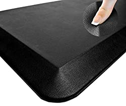 Oasis Kitchen Mats, Leather Grain Comfort Anti Fatigue Mat & Kitchen Rug