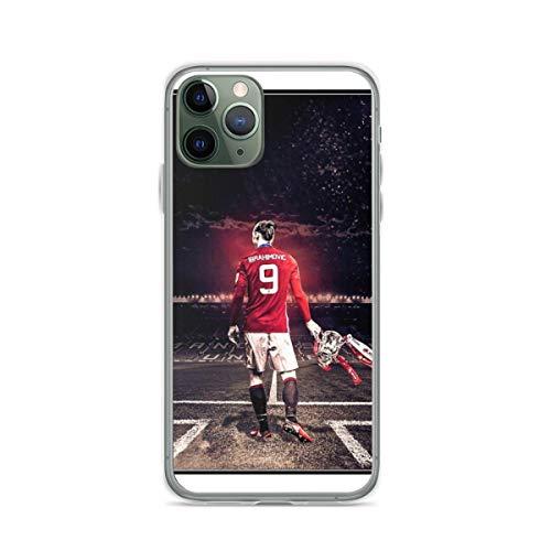 Compatibile con Samsung/iPhone 12/11/X/XR/7/Xiaomi Redmi 9A/Note 9/10/8 Pro Custodie Zlatan Ibrahimovic - Manchester United Custodie per Telefoni Cover