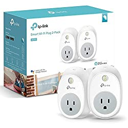 TP-Link HS100 Smart Plug , Wi-Fi, Works with Alexa, Control Your Devices from anywhere (HS100 KIT) 5.67 x 3.46 x 3.54 inches White