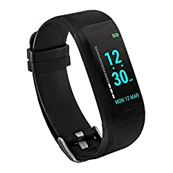 GOQii VITAL - Colour Display Blood Pressure Monitor with 3 months Personal Coaching, Adult (Black)