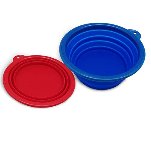 AZCAMP Collapsible Camping Bowls (2-Pack)