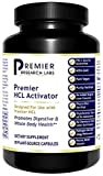 Premier Research HCL Activator, Dietary Supplement, 90 Plant-Source Capsules, Promotes Digestive & Whole Body Health