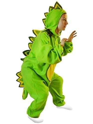 Ikumaal Drachen-Kostüm, F01 Gr. M-L, Drache-Kostüme für Männer Frauen, Drachen Dino-Kostüme Faschingskostüm, Fasching Karneval Fasnacht, Dino Faschings-Kostüme, Karnevals-Kostüme Geschenk Erwachsene