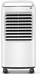 PARTAS Fresco en Verano, hogar Ventilador de Aire Acondicionado, refrigeración por evaporación del Ventilador, Purificación/humidificación/refrigeración, Espesa Cortina de Hielo for enfriamiento d