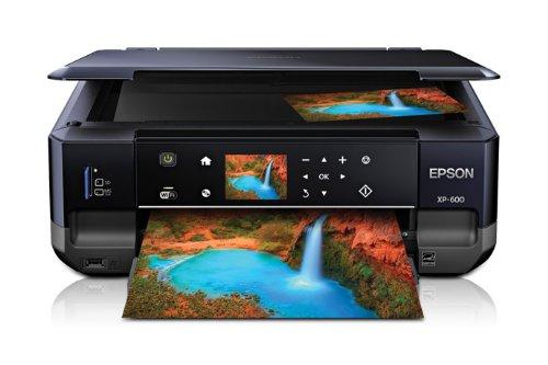Epson C11CC47302 Expression Premium XP-600 Stampante Multifunzione Fotografica a Getto d'Inchiostro, Nero