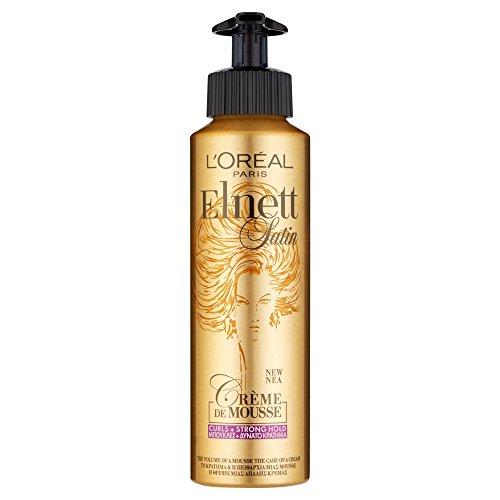 L'Oréal Elnett Crème de Mousse Curls Strong Hold, 200ml