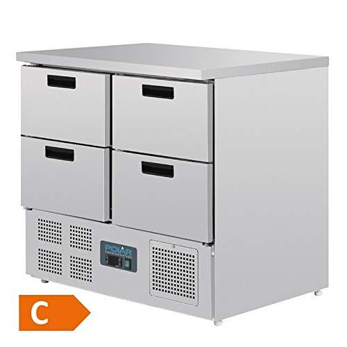 Polar Serie G Kühltisch(EEFK:C) mit 4 Schubladen 240L
