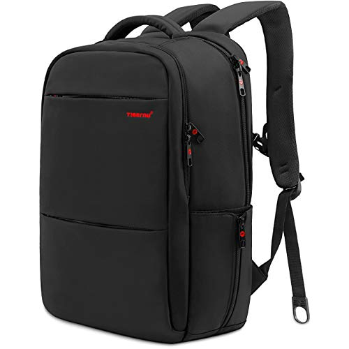 LAPACKER 17 Inch Lightweight Slim Business Laptop Backpack for Men Water Resistant Computer...